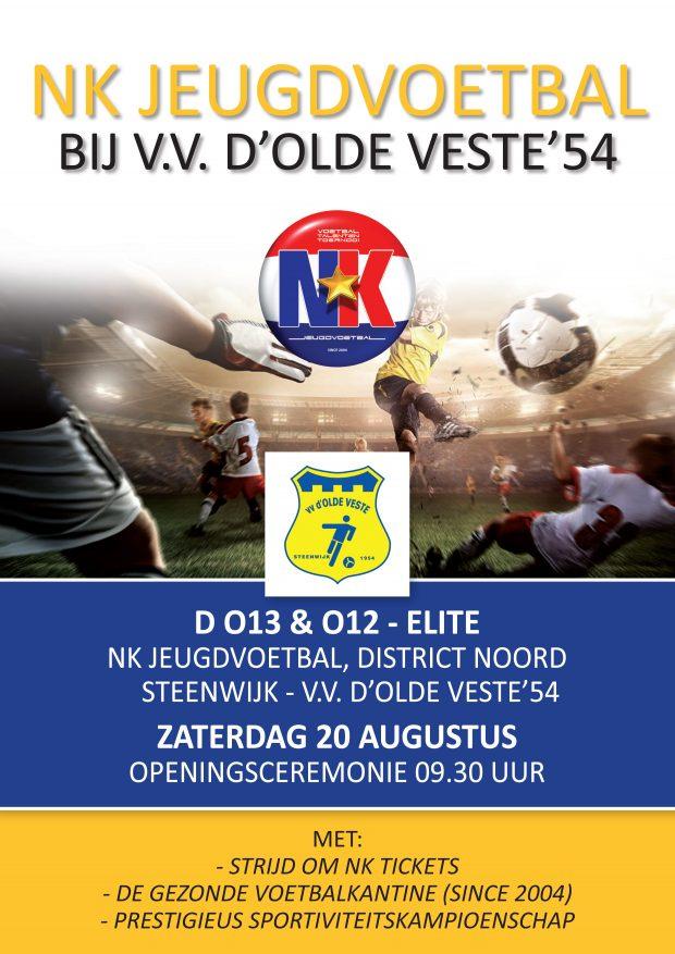 20 augustus Voetbal Talenten Toernooi D-pup bij  d' Olde Veste '54