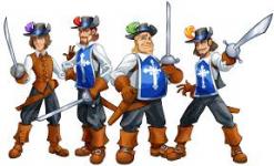 4 musketiers