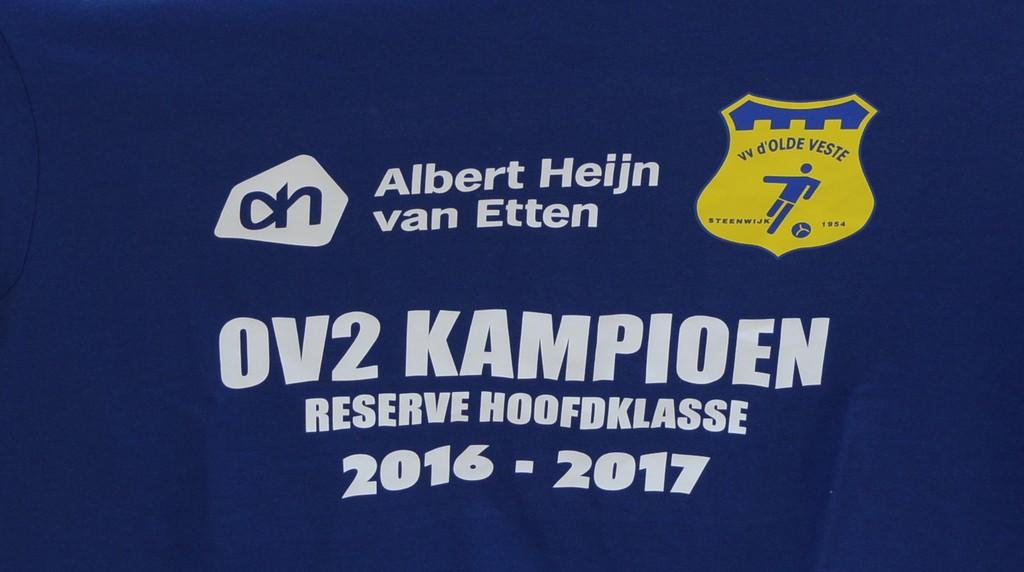 Olde Veste 2 Kampioen Reserve Hoofdklasse A seizoen 2016-2017