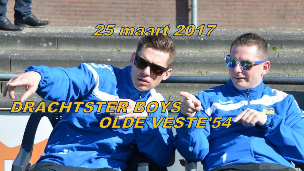 Drachtster Boys – v.v. Olde Veste '54