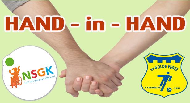 Olde Veste hand-in-hand met collecte voor NSGK