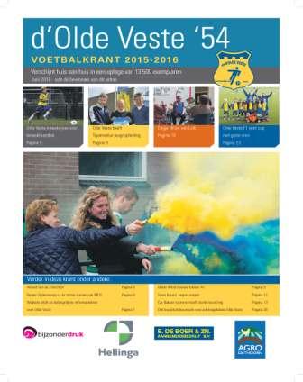 Deze week valt de nieuwe Olde Veste krant op de deurmat