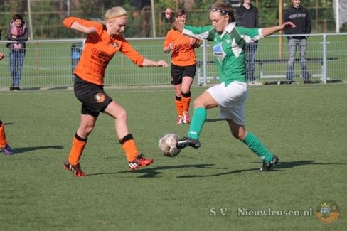 Selectie VR1 compleet met komst Sharon De Witte van Rouveen VR1 naar Olde Veste VR1