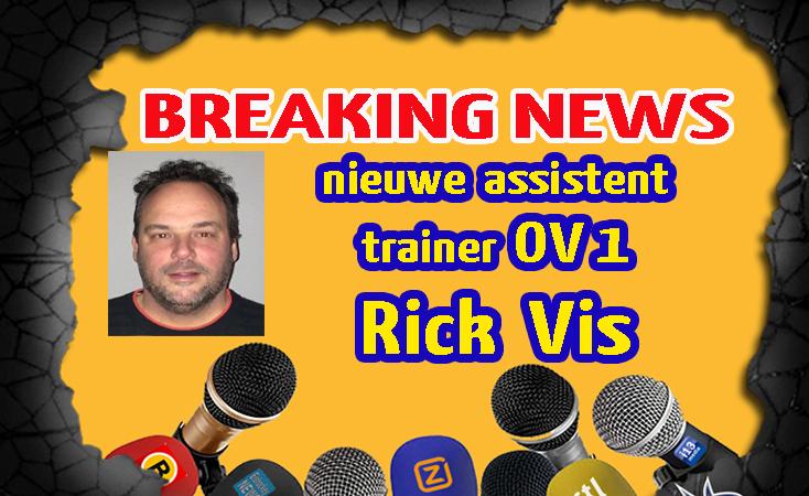 Rick Vis assistent trainer