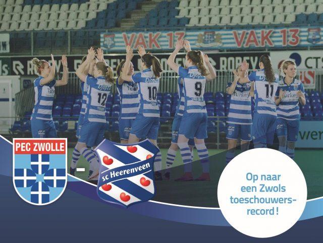 Jij kunt meehelpen aan een toeschouwersrecord in Zwolle!