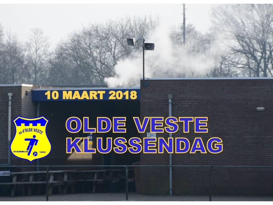 Klusdag Olde Veste zaterdag 10 maart