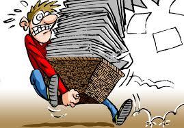Oud papier conctainer is een paar dagen gesloten !
