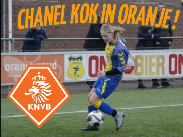 Chanel Kok uit JO-15-1 in Oranje!