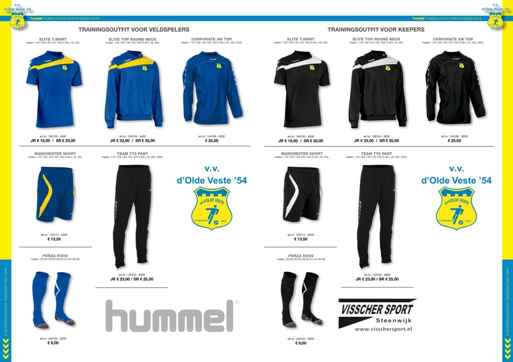 clubcollectieflyer - VV D'OLDE VESTE - VISSCHER SPORT - 2015-2