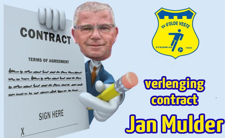 Jan Mulder verlengt contract bij Olde Veste Vrouwen 1