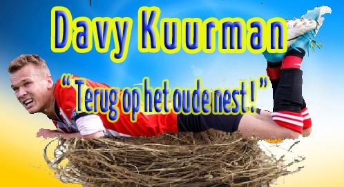 Davy Kuurman terug bij v.v. d'Olde Veste '54