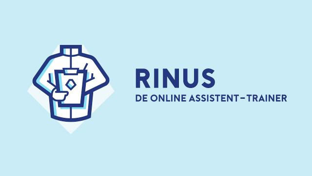 De assistent van de trainer: Rinus
