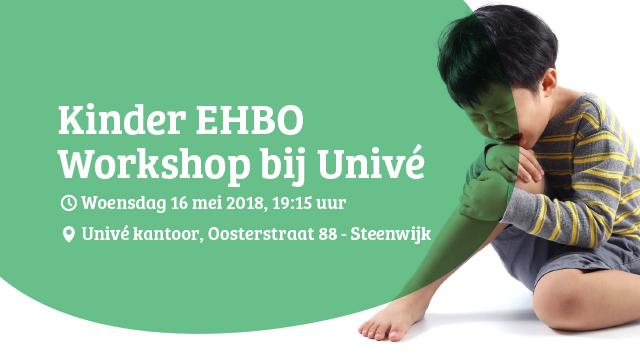 Kinder EHBO Workshop bij Univé