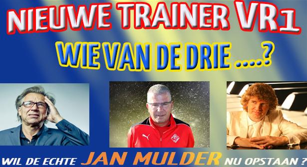 Volgend seizoen nieuwe trainer voor VR1!
