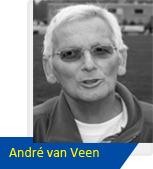 def André-van-Veen naamplaatje