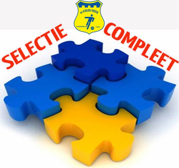 Selectie Olde Veste compleet