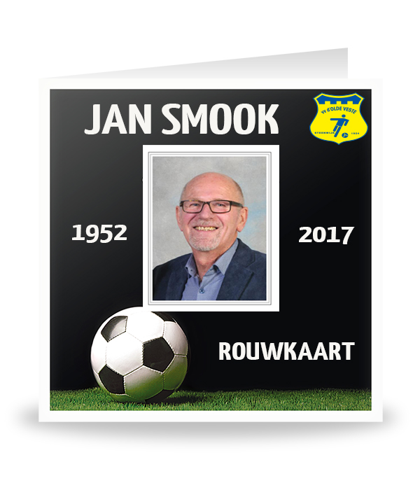 Rouwkaart JAN  SMOOK