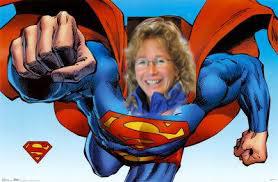 sandra lampe superwomen