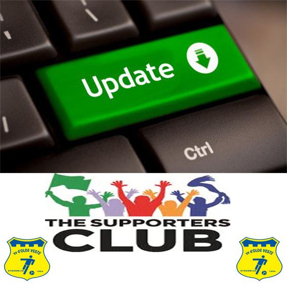 Het W I E , W A T en H O E van onze supportersclub !
