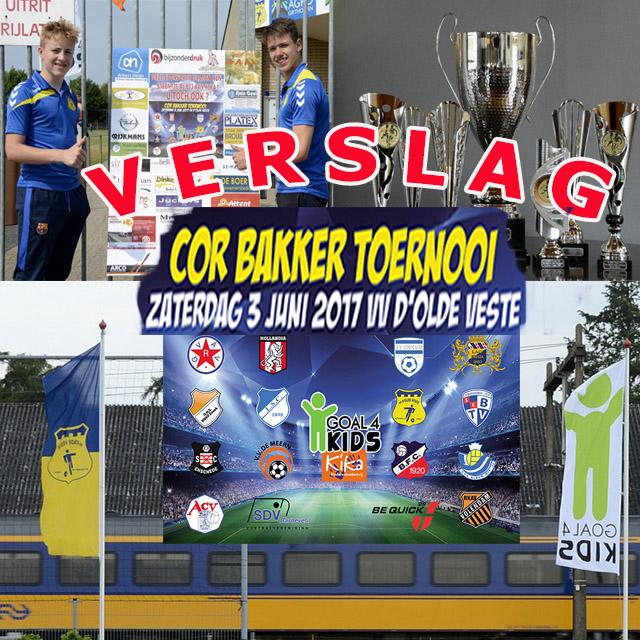 GVAV Rapiditas winnaar van 9e Cor Bakker Toernooi