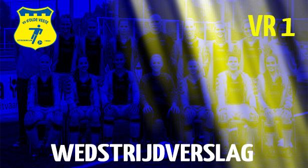 Collectief Olde Veste VR1 wint verdiend van Heino VR1