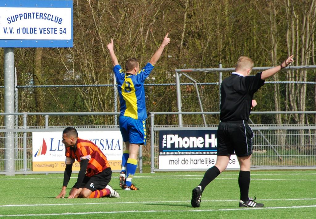 Gretig d'Olde Veste'54 verslaat FC Zutphen
